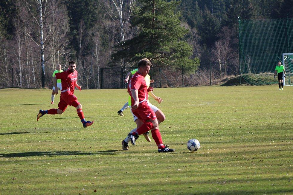 Fotbalová I.B třída: Stachy - Bělčice 2:2.