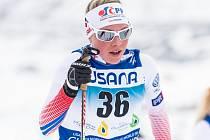 Barbora Havlíčková na MS juniorů v USA.