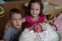 Z holčičky se radují Anežka  a Jiří Důrovi z Prachatic. Anežka Důrová se narodila v prachatické porodnici ve středu 26. července ve 22.10 hodin. Vážila 2980 gramů. Na malou sestřičku se těší pětiletá sestřička Eliška a tříapůlletý bráška Jiřík.