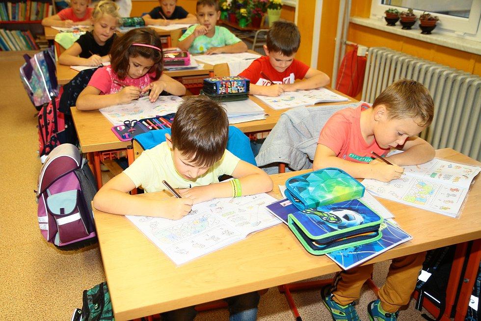 1. B třída ze Základní školy ve Vlachově Březí.