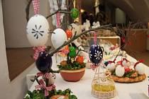 Velikonoční výstava prachatických seniorů.