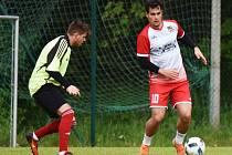 Fotbalová příprava: Strunkovice - Lažiště 2:4.