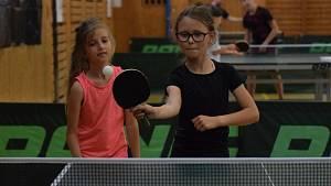 Vimperk je nyní hlavním městem stolního tenisu.