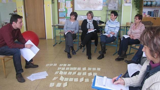 Workshop v ZŠ Národní.