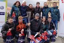 Vimperští studenti vyhráli Juniorský maraton.