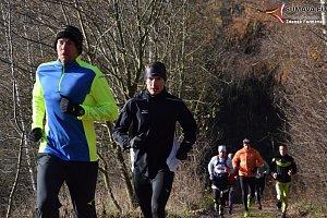 Běžci vyrazili z Vimperka na Boubín.