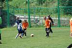 Mladí fotbalisté si dali dostaveníčko v Lažištích.