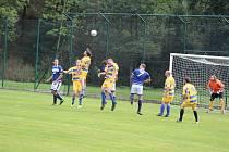 Fotbalový OP Prachaticka: Strunkovice B - Nebahovy 4:2.