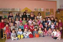Mateřská škola ve Lhenicích má tři třídy, a to Berušky, Motýlky a Sovičky.