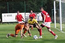 Fotbalová I.A třída: Strunkovice - Olešnice 8:1.