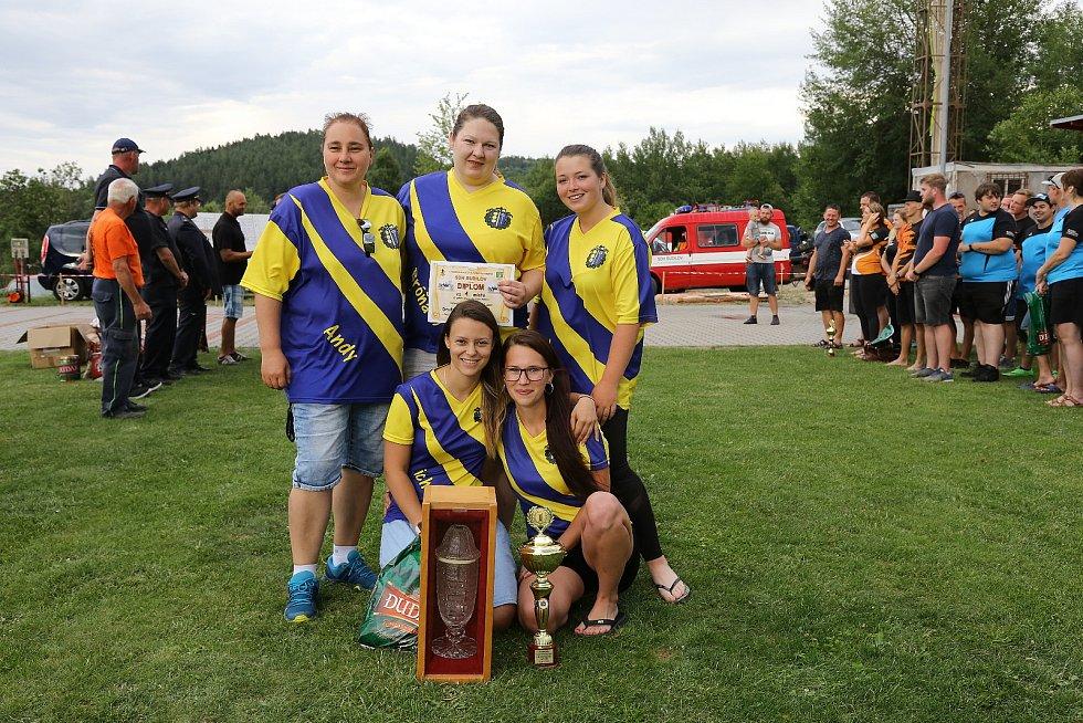 Hasičská soutěž v Budilově na Prachaticku.