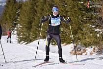 Lyžaři si užívaly Šumavský skimaraton volnou technikou.
