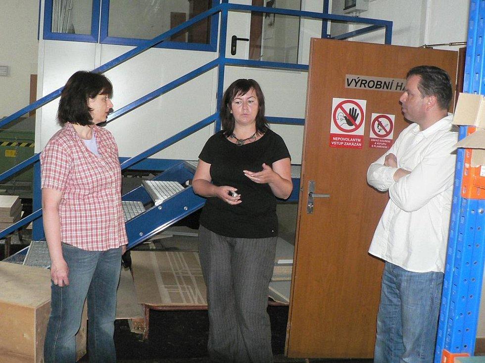 Situaci mapoval prachatický starosta Jan Bauer ve spolupráci s ředitelkou Jihočeské hospodářské komory Radkou Dvořákovou.