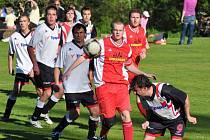 Fotbalová i.B třída pokračovala zajímavými zápasy.