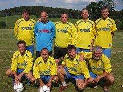 Vítězný tým Staré gardy Pěčnova.