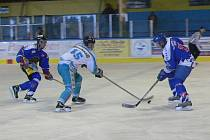 Šumavská liga ledního hokeje pokračovala zápasy pátého a šestého kola. Ilustrační foto.
