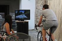 Cyklisté mohou vyrazit na virtuální závody. Ilustrační foto.