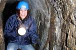 Deník byl s ČEVAKem v prachatickém podzemí.