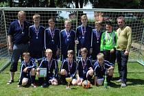 Turnaj vyhráli žáci Šumavských Hoštic.
