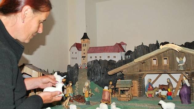 Betlém s motivem Vimperka je prozatím umístěn v kapli zdejšího zámku. Časem by se měl přemístit na místo, kde bude přístupný celoročně