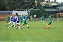 Prachatičtí fotbalisté vezou tři boy z béčka Táborska. Ilustrační foto.