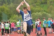 Mladí atleti soutěžili o Pohár rozhlasu.