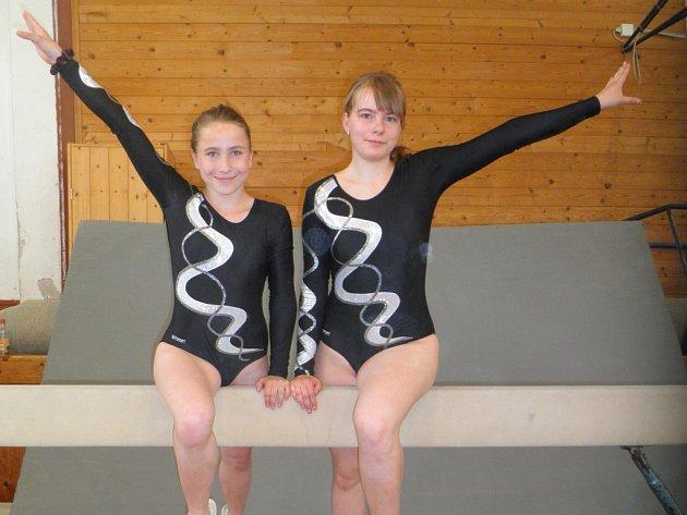 Vimperské gymnastky v J. Hradci.