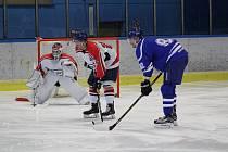 Startuje hokejová Krajská liga. Ilustrační foto.