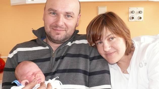 Václav Půbal z Chluman se narodil v písecké porodnici v sobotu 23. března v třicet tři minut po třetí hodině odpolední. Při narození vážil  3950 gramů a měřil 53 centimetrů.