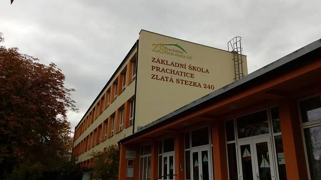 Prachatice, Základní škola Zlatá stezka 240. Ilustrační foto