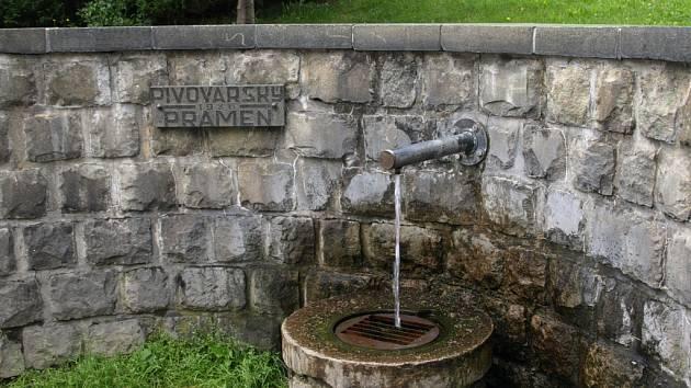 Pivovarský pramen v Prachaticích