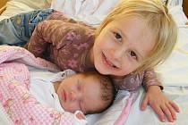 Kristýna Pešková se v prachatické porodnici narodila 26. října 2011 ve 12.45 hodin, vážila 3440 gramů a měřila 50 centimetrů. Rodiče Michaela a Jiří Peškovi jsou z Prachatic. S malou sestřičkou se nechala vyfotografovat i čtyřletá Michaela.