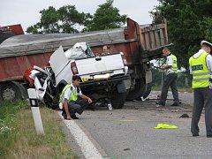 Tragická nehoda u Malovic.