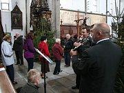 V prachatickém kostela sv. Jakuba se v sobotu uskutečnila Svatohubertská mše.