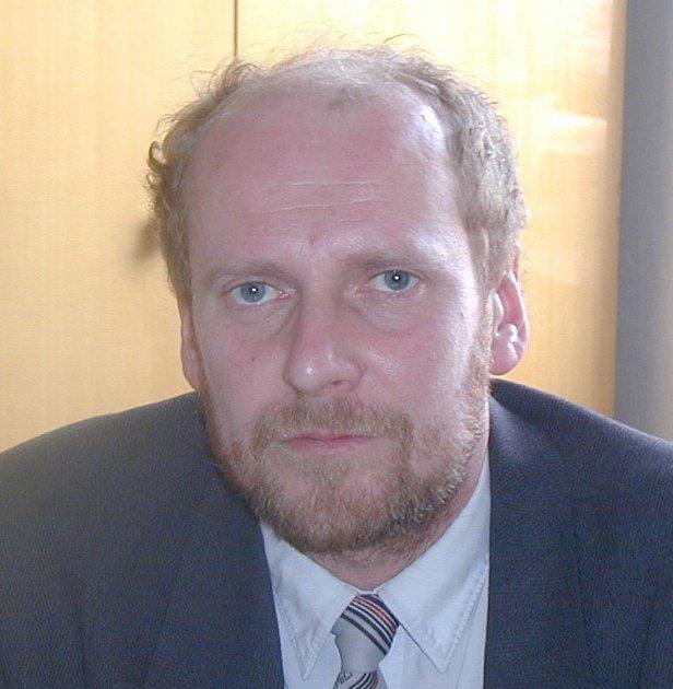 Karel Pašek, tajemník Městského úřadu v Prachaticích.