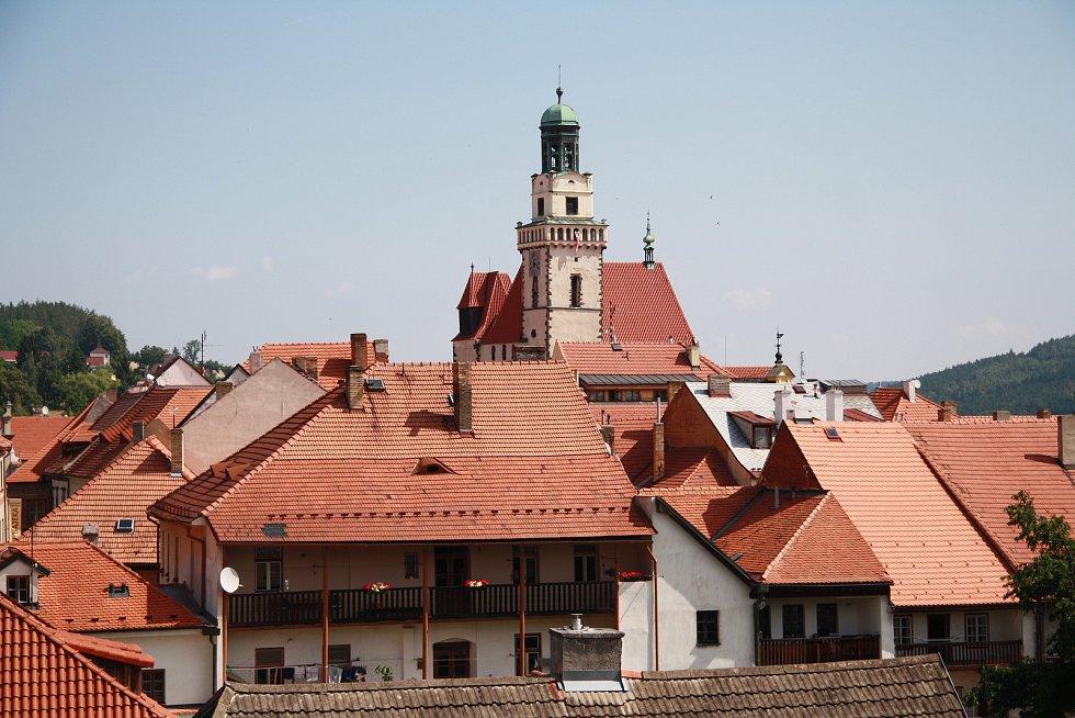 Vestavba na budově, kterou obývá prachatický KreBul.
