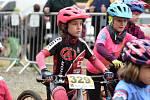 Nejmenší bikeři zahájili seriál Jihočeského poháru MTB.