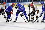Hokejová Krajská liga: Vimperk - Humpolec 2:3.