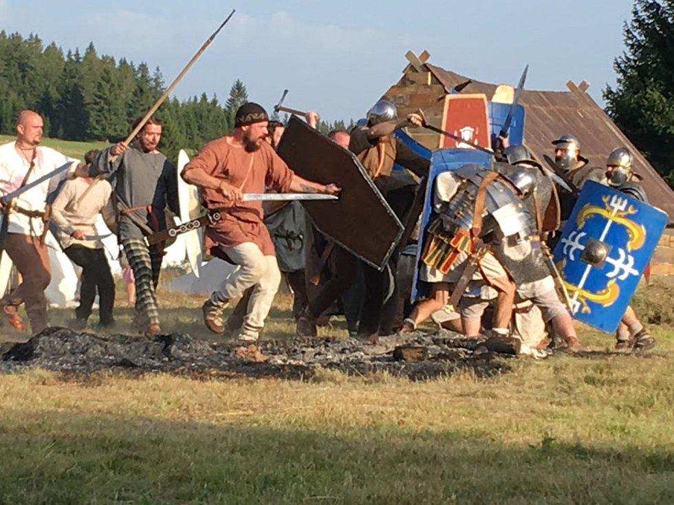 V sobotu se ve Kvildě konal den, který přenesl návštěvníci do antických dob.