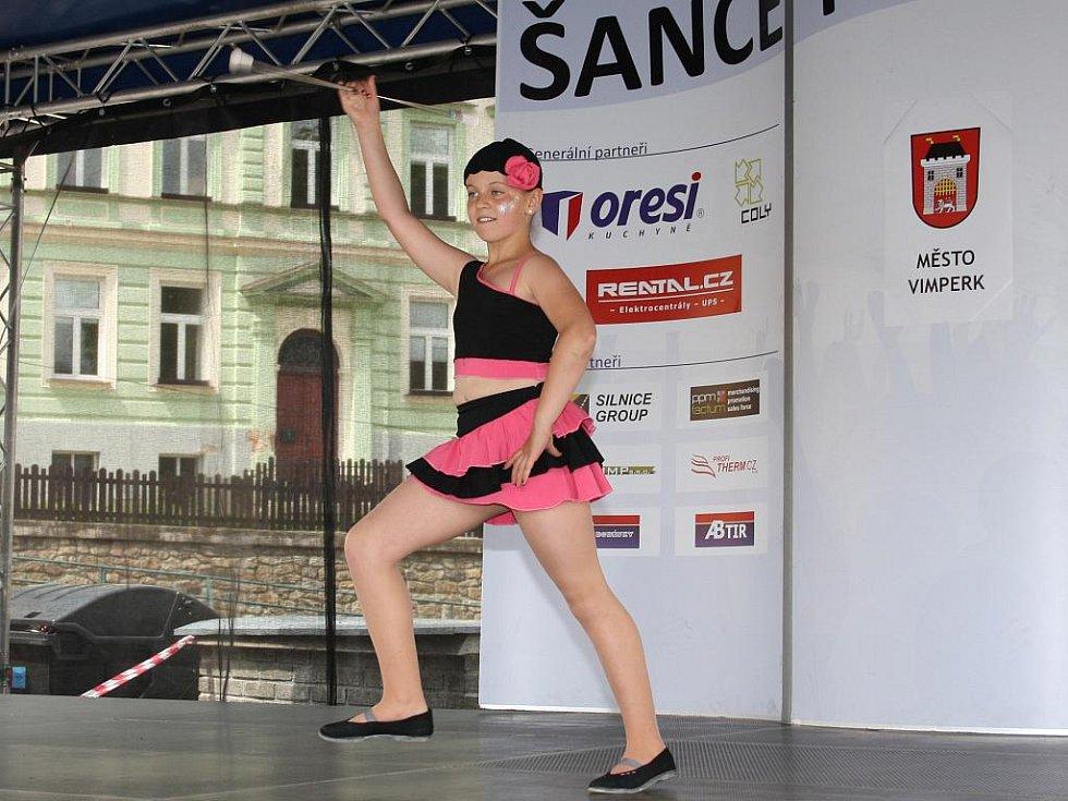 Prvním tanečním číslem v soutěži bylo sólové vystoupení.