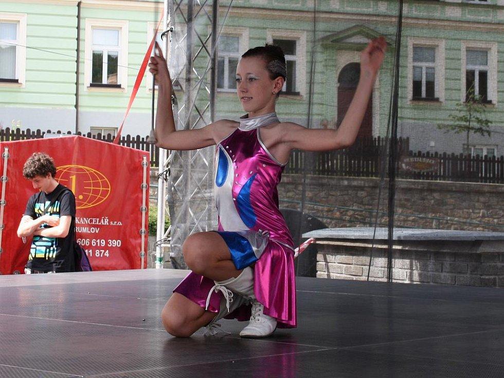 Po přestávce zahájila druhý blok soutěžních vystoupení Michala Czervenková.