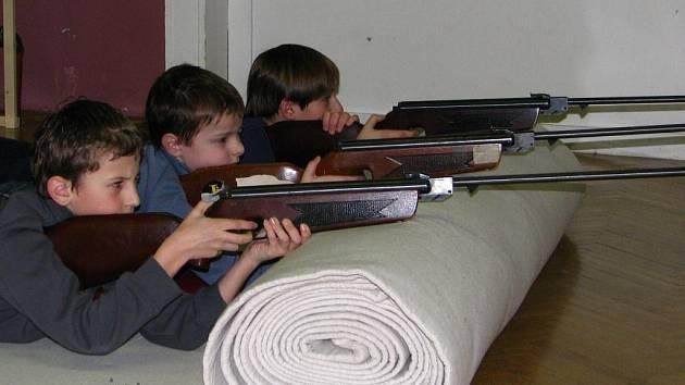 Netoličtí mladí střelci.