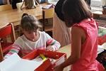 První školní ve Strážném.
