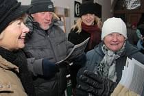Česko zpívá koledy v Prachaticíczh