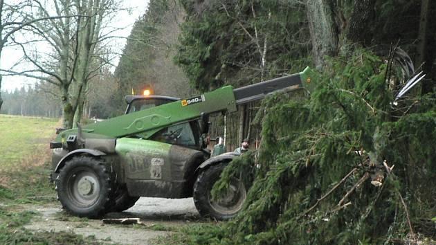 Po vichřici se uklízelo, ale nyní jsou lesy přístupné
