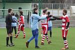 Fotbalová příprava: Lažiště - Lhenice 2:1.