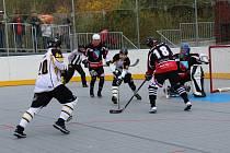 Prachatičtí hokejbalisté v úvodním utkání čtvrtfinále play off II. národní ligy porazili Zliv 5:0.