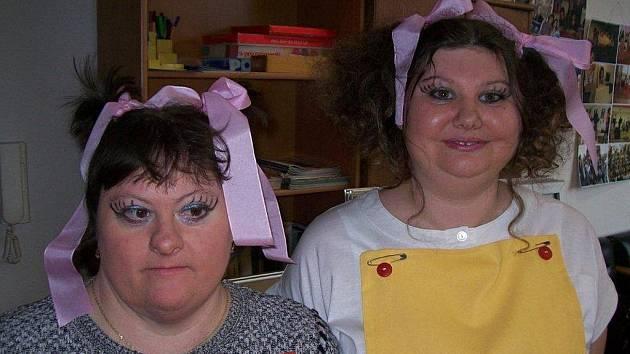 Hvězdami setkání zdravotně postižených se staly Jitka Lexová a Eva Faktorová.