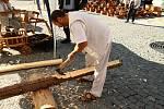 Slavnosti dřeva ve Volarech.