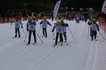 Vimperský pohár lyžařů 2016.